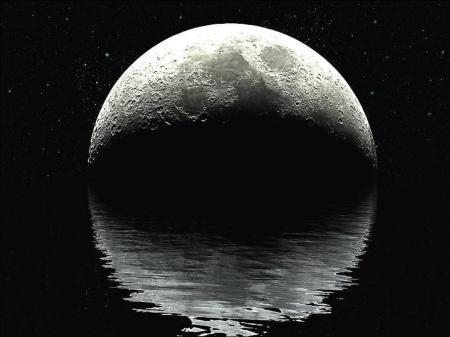 Wasser auf dem Mond 1