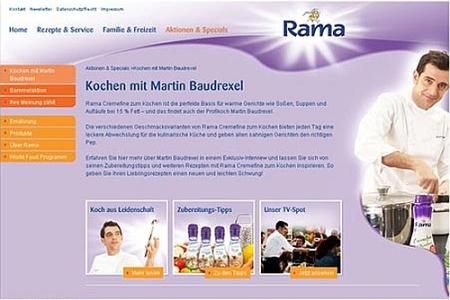 Martin Baudrexel – der Kochprofi wirbt für Fertigprodukte