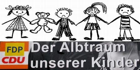 CDU FDP SPD Grüne Der Albtraum