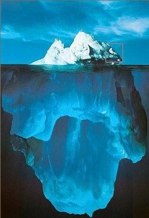 Die Spitze des Eisbergs 2