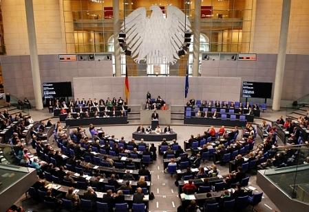 Gestern im Deutschen Bundestag