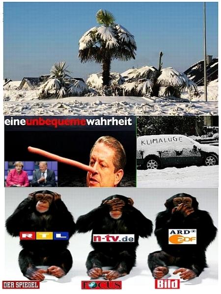 Klimawandel - Klimaschwindel - Klimalügen