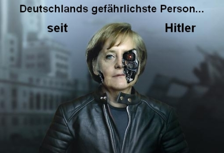 Deutschlands gefährlichste Person seit Hitler: Angela Merkel