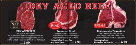 Dry aged Gammelfleisch nach der Bearbeitung