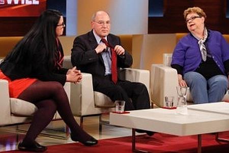 Gregor Gysi bei Anne Will - Thema Rente und Alterarmut