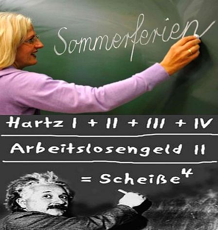 Lehrer auf Hartz IV