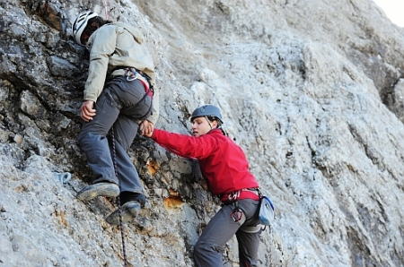 Bergsteiger stürzen in den Tod