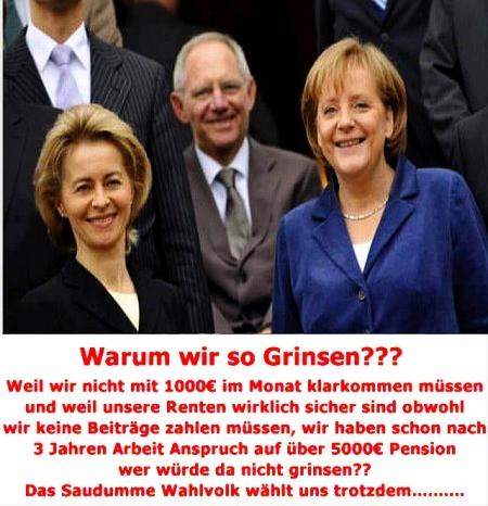 Bundestagswahl 2013 - Deutschland ist das Land der Dummen