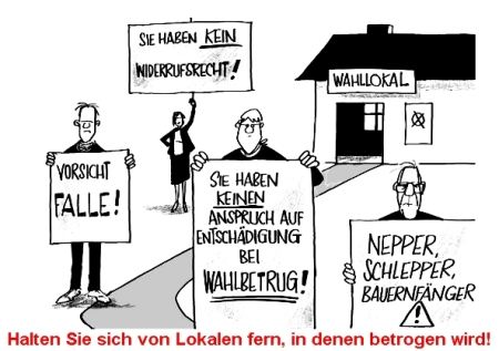 Bundestagswahl 2013 - Wahlbetrug ist erwiesene Tatsache