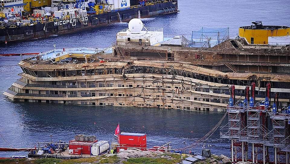 Costa Concordia Heute