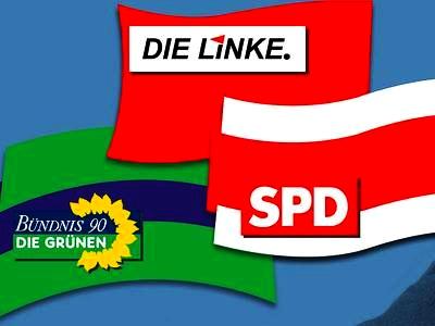 Linke wirbt für Rot-Rot-Grün