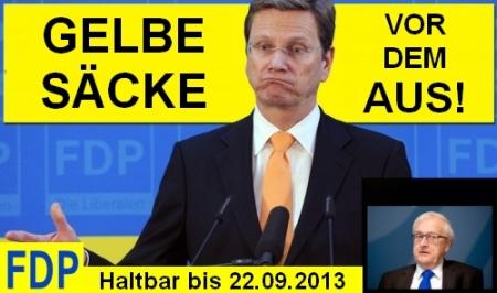 Mövenpickpartei (FDP) kämpft ums Überleben