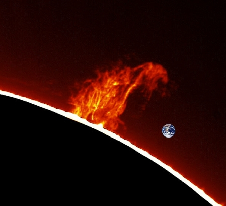 Was sind solare Flares