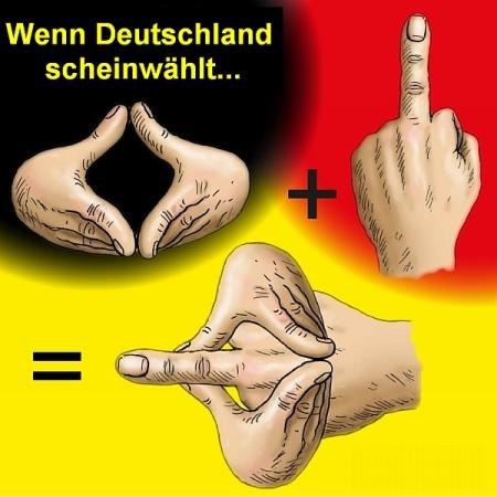 Wenn Deutschland scheinwählt
