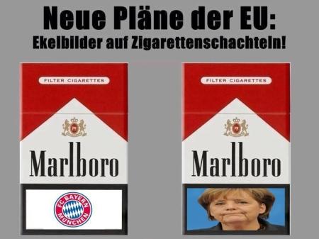 EU-Parlament stimmt für Schockbilder auf Zigarettenpackungen