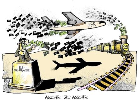 Flughafen Berlin - Kostenrahmen ist nicht zu halten