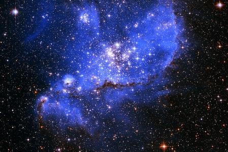 Irreguläre Galaxie - Kleine Magellansche Wolke