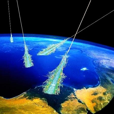 Wo entsteht die kosmische Strahlung