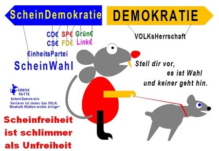 Demokratie oder Scheindemokratie 2