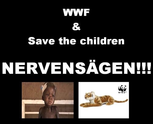 WWF & Save the cildren Nervensägen