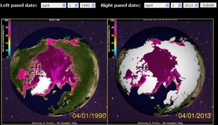 Arktis 1990 2013