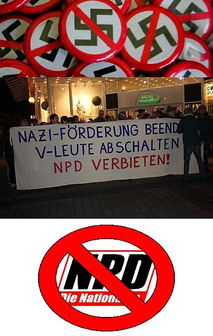 Erneuter Verbotsantrag gegen Nazipartei NPD