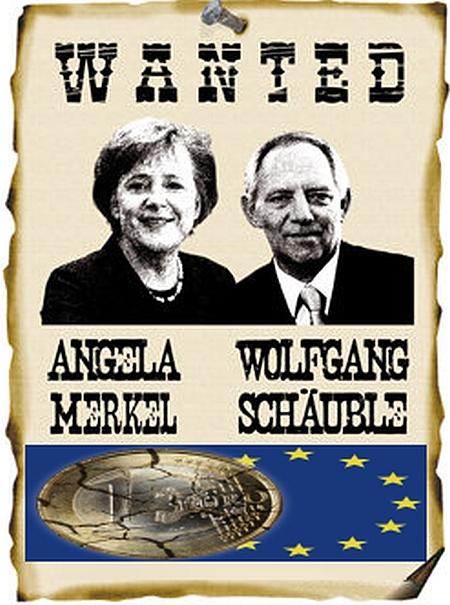 Euro-Länderplünderer sprechen über Troika-Blockade in Griechenland