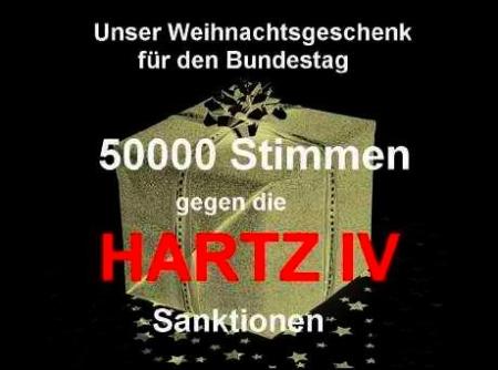 Hartz IV-Petition erfolgreich