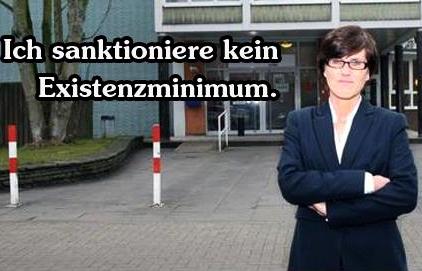 Inge Hannemann verdient den Preis für Menschenwürde