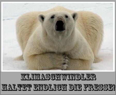 Klimaschwindler - Angeblicher Eisverlust in der Arktis der angeblich Wetterextreme verstärkt