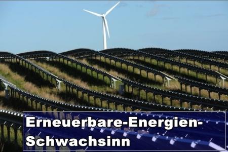 Ökostrom-Förderung ruiniert Deutschland