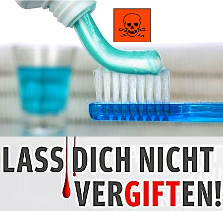 Slikovni rezultat za fluorid ist schädlich
