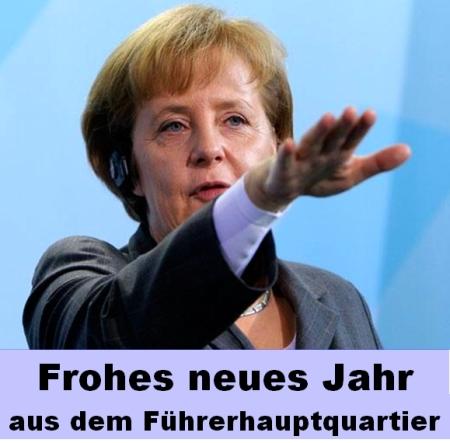 Merkel - Hitler - Führerhauptquartier