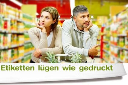 Verbrauchertäuschung im Supermarkt