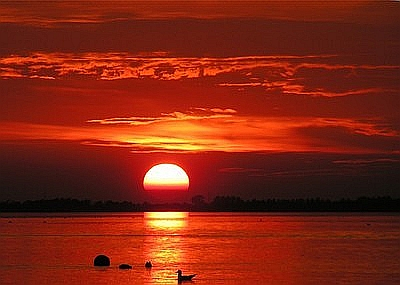 Wissenschaft Interessant Gemacht – Teil 146 – Warum ist der Himmel manchmal orange bis rot