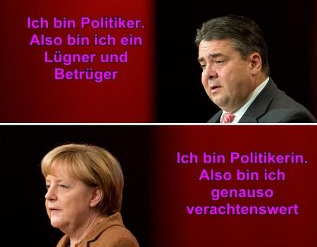 Merkel Gabriel CDU SPD Scheindebatte um kalte Progression
