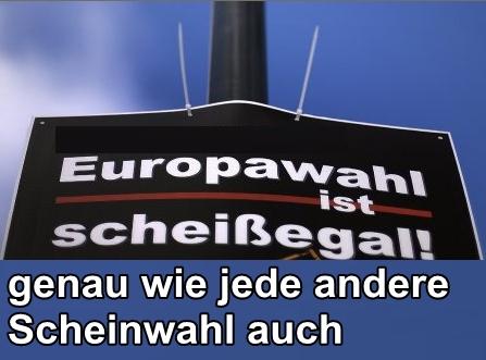 Europawahl - Warum man sich den Gang zur Wahlurne sparen kann
