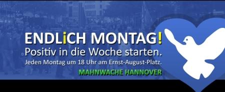 Mahnwache Hannover über Klimaschwindel und BILD-Zeitung