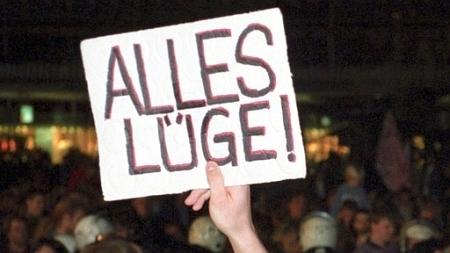 Was die Lügenmedien nicht zeigen - Die Beliebtheit der Kanzlerschauspielerin Merkel