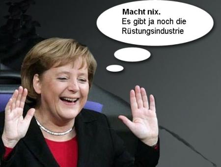 Merkel Rüstungsindustrie