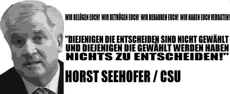 Seehofer will dass Hartz-IV eine Tortour bleibt