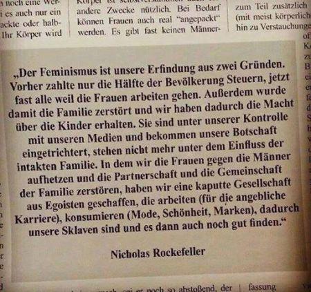 Rockefeller Feminismus