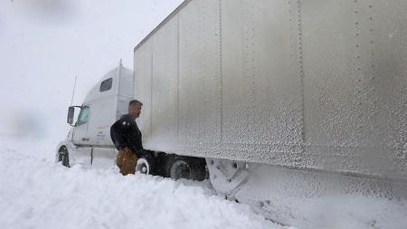 Immer diese Erderwärmung - Wintereinbruch in den USA