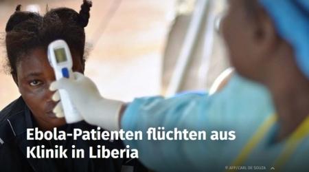 Wie vorhergesagt - Experten erwarten mehr Ebola in Deutschland_