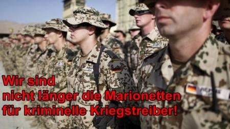 Sogenannte Bundesregierung will 100 Soldaten in den Irak schicken