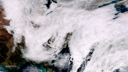 Schneesturm Juno - Notstand in sieben US-Bundesstaaten