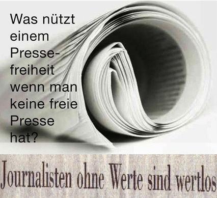 Von wegen Pressefreiheit