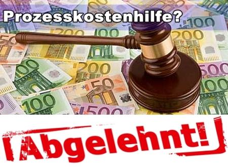 Der Prozesskostenhilfebetrug - Ihr Recht auf Prozesskostenhilfe