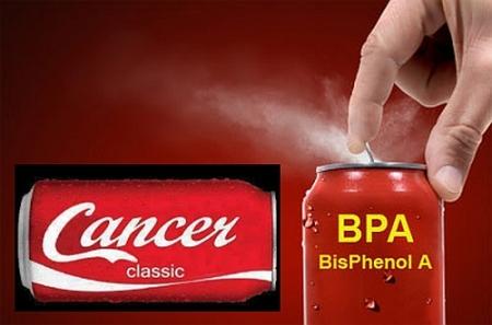 Bisphenol A - Gift aus PET-Flasche und Konservendose