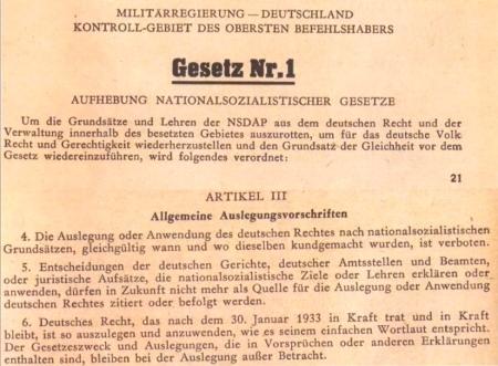 Marx wendet verbotene Nazi-Gesetze an